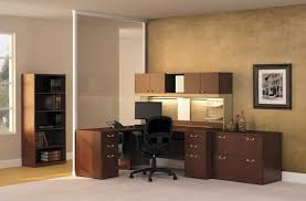 Wooden Home Office Furniture Beauteous Image Of Home Office Decoration Using Various Modular