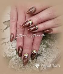 tiger eye crystalac gel polish new product 2014 fall nail