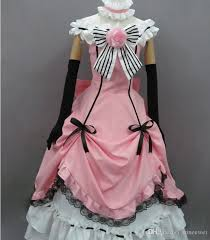 Black Butler Halloween Costumes Black Butler Kuroshitsuji Ciel Cosplay Costume Dress