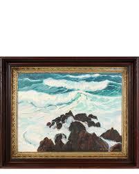 waves and coastal rocks quot