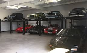 8 car garage auto lift fp8k dx xlt car park 8 plus extra tall 8k lb car storage