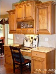 Kitchen Desk Cabinets Kitchen Fit For A Crowd Desks Middle And Minwax