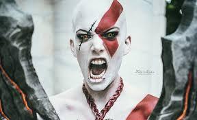 Kratos Halloween Costume Epic Female Cosplay Kratos God War