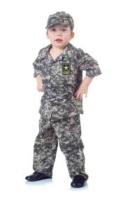 Halloween Military Costumes Army Toddler Costume Soldier Costume Kids