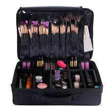 professional makeup artist organizer valdler black professional 15 makeup bag artist cosmetic storage