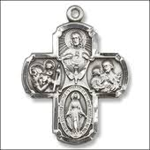 catholic necklaces religious medals and jewelry pendants crucifix and cross