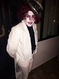 champagne in glass of lassi pak celebs celebrated halloween