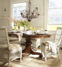 Best  Wicker Dining Chairs Ideas On Pinterest Eat In Kitchen - Round dining table with wicker chairs