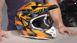 shoei motocross helmet shoei vfx w maelstrom helmet review at revzilla com youtube