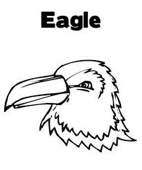 flying eagle bird coloring animal coloring pages
