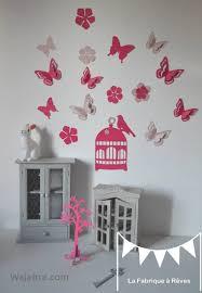 d馗oration papillon chambre fille unique deco chambre bebe fille papillon wajahra com