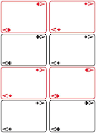 Playing Card Design Template Texas Reading Club Game On Ttr 08 Texas State Library Tslac