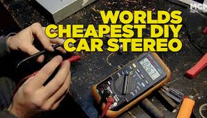 best black friday car audio deals worlds cheapest diy car stereo youtube