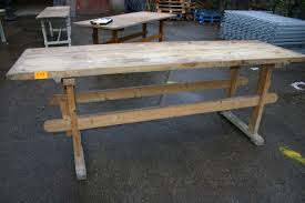 furniture reclaimed wood long thin dining table perfect long