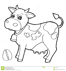 coloring page tiger paw cattle with paw print coloring pages vector stock vector