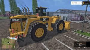 cat 994f frontloader fs15 mods