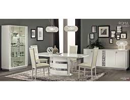 Italian Style Dining Room Furniture by White Modern Italian Dining Table