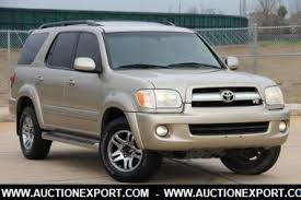 toyota sequoia used for sale used 2005 toyota sequoia limited sedan 4 doors car for sale at