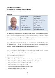 Sample Resume For Electrical Engineer In Construction Field by Niall Lawless Detailed Construction And Engineering Cv February 2012