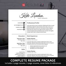 Complete Resume Example by 2 Page Resume Template Virtren Com