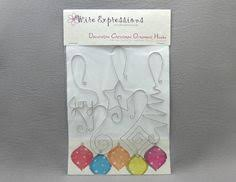 Decorative Christmas Ornament Hooks by Christmas Ornament Hooks Two Packages Holiday By Wireexpressions