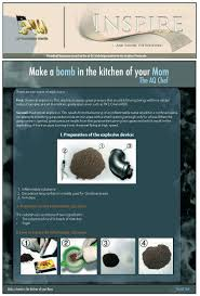 inspire magazine make a bomb in the kitchen of your mom