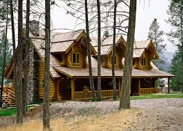spruce creek main level log homes floor plan cottage plans