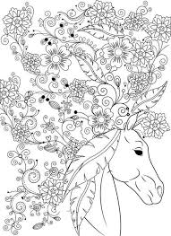 443 best coloring horses images on pinterest colouring