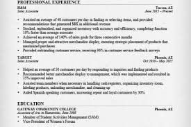 retail clothing sales associate resume
