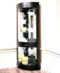 glass corner curio cabinet glass corner curio cabinet corner curio cabinet tempered glass wood