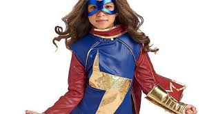 Pacific Rim Halloween Costume Kids Official Kamala Khan Ms Marvel Costume