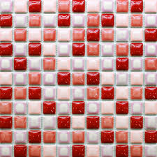 red tile backsplash kitchen mosaic fashion picture more detailed picture about tiles mosaics