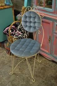 Vanity Stools And Chairs Vintage Hollywood Regency 50 U0027s Vanity Velvet By Macgrubers On Etsy