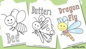 free printable bug coloring pages archives easy peasy fun