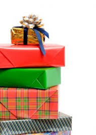 present wrapping station gift wrap service fundraiser