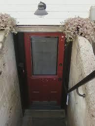 exterior design improving your basement with metal bilco doors