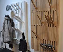 designer garderoben wandgarderobe peruse piano coat rack h1450 x w820 mm walnut by