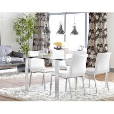 Modern White Dining Room Set by Smith Modern White Dining Chair Eurway Furniture