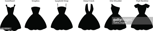 dress styles dress styles vector getty images
