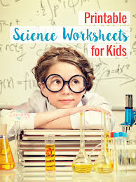 printable science worksheets for kids