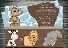 safari baby shower invitations baby shower decoration ideas
