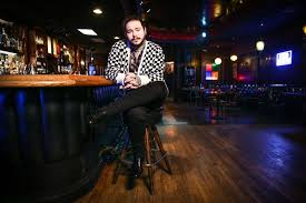 bud light bar light post malone behind the scenes before his bud light dive bar tour