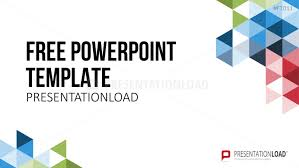 Free Power Point Presentationload Free Powerpoint Template Geometric Shapes