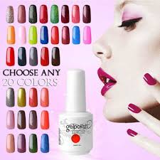 amazon com elite99 uv led soak off gel nail polish set beauty
