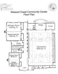 newport coast community center city of newport beach