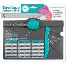 we r memory keepers envelope punch board walmart com