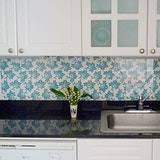Wallpaper For Backsplash In Kitchen Roundup The Wallpaper Backsplash Apartment Therapy