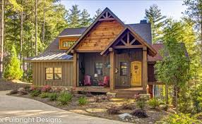 cabin house plans rustic cottage house plans by max fulbright designs