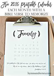 2016 printable planner u0026 calendar hymns and verses