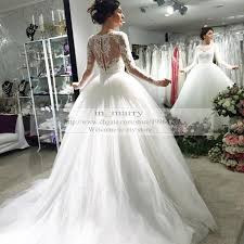 Princess Style Wedding Dresses Victorian Long Sleeves Vintage Lace Wedding Dresses Ball Gown